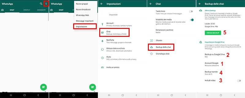 come salvare whatsapp sul pc