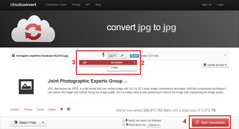 Come Trasformare Unimmagine Jpg In Pdf Tutorial More