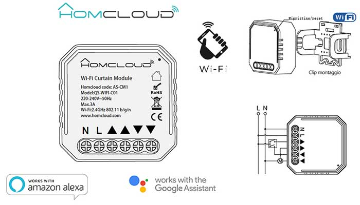 modulo tapparelle homecloud