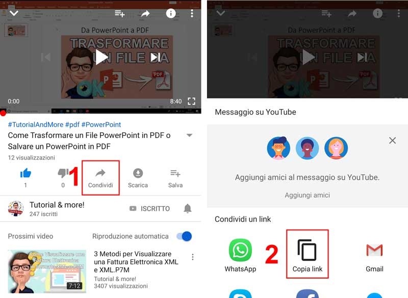 scaricare video youtube su smartphone